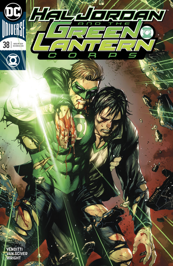 HAL JORDAN AND THE GREEN LANTERN CORPS #38 VAR ED