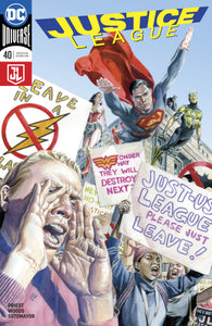 JUSTICE LEAGUE #40 VAR ED