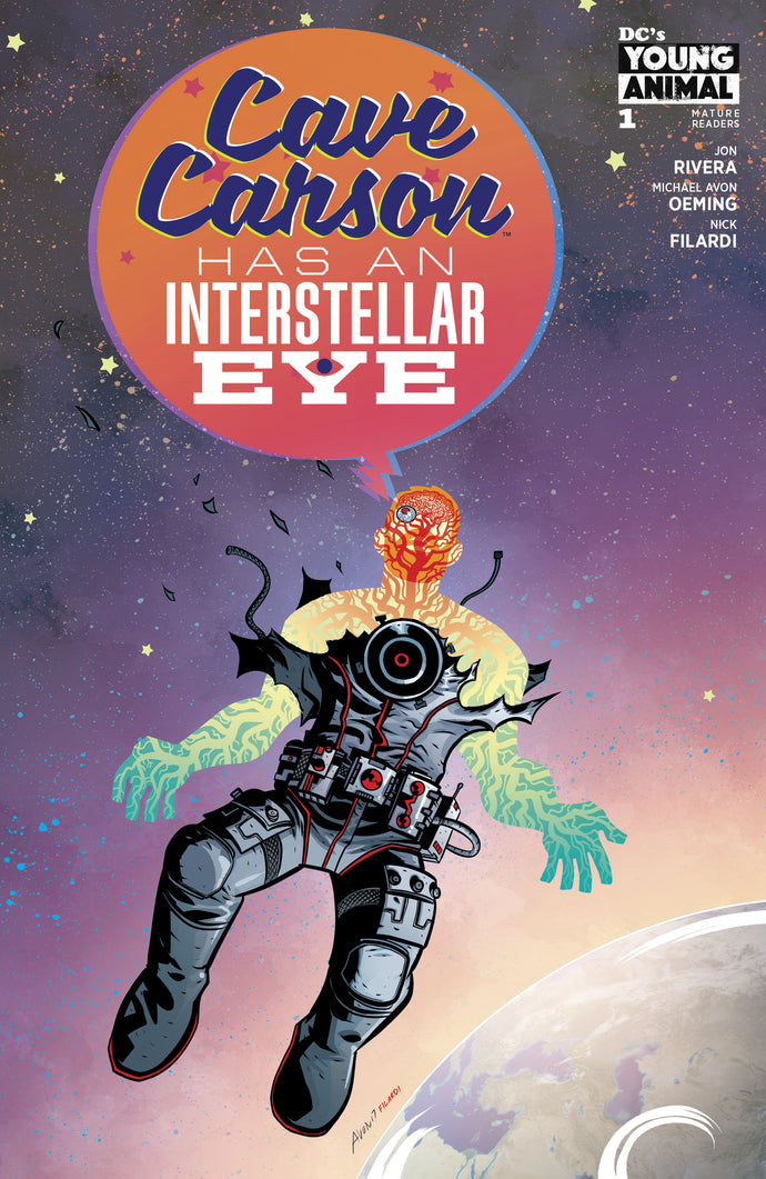 CAVE CARSON HAS AN INTERSTELLAR EYE #1 (MR)