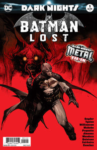 BATMAN LOST #1 2ND PTG METAL