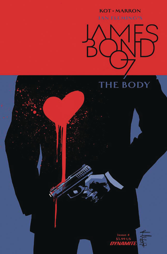 JAMES BOND THE BODY #4 (OF 6) CVR A CASALANGUIDA