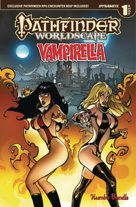 PATHFINDER WORLDSCAPE VAMPIRELLA ONE SHOT