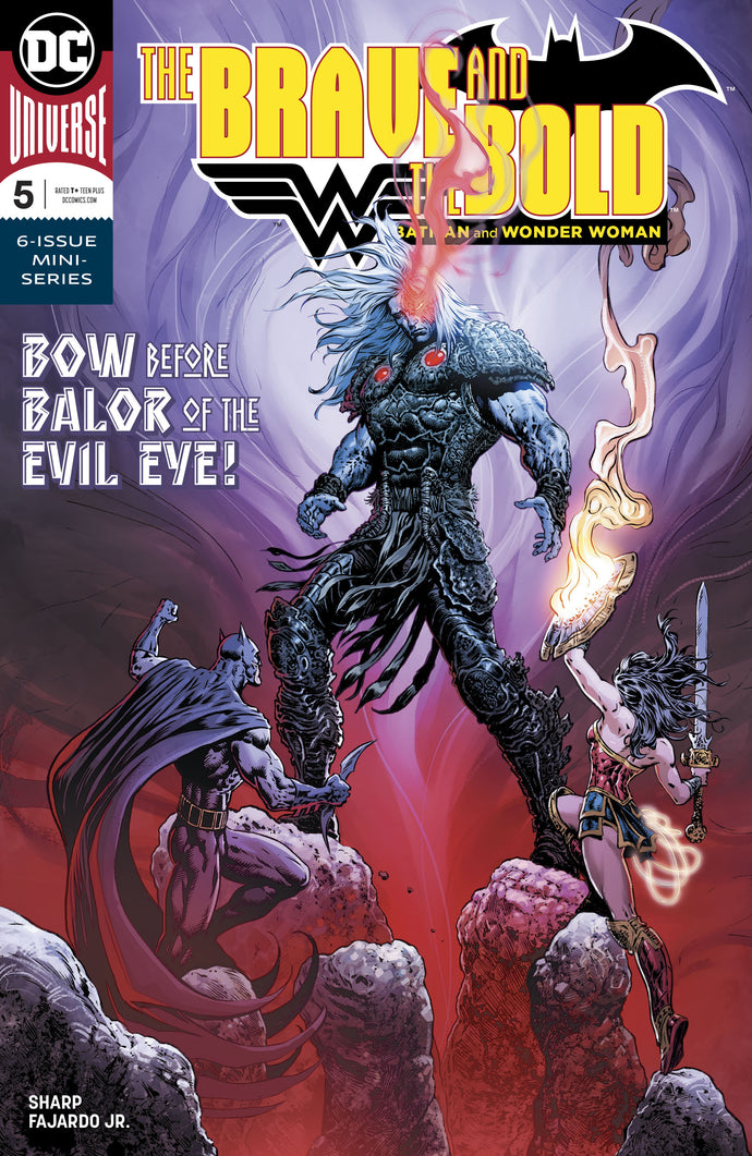BRAVE & THE BOLD BATMAN & WONDER WOMAN #5 (OF 6)