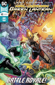 HAL JORDAN AND THE GREEN LANTERN CORPS #48