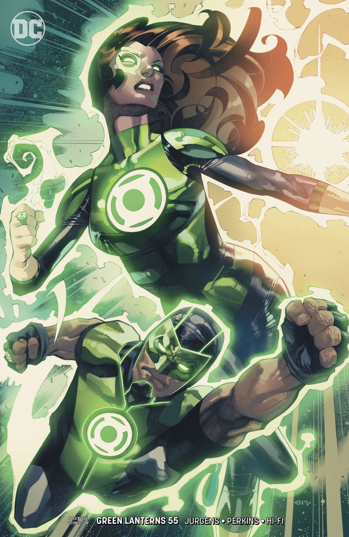 GREEN LANTERNS #55 VAR ED