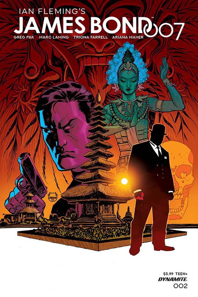 JAMES BOND 007 #2 CVR A JOHNSON
