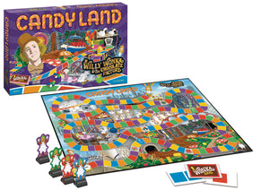 WILLY WONKA CANDY LAND BOARD GAME (C: 1-1-2)