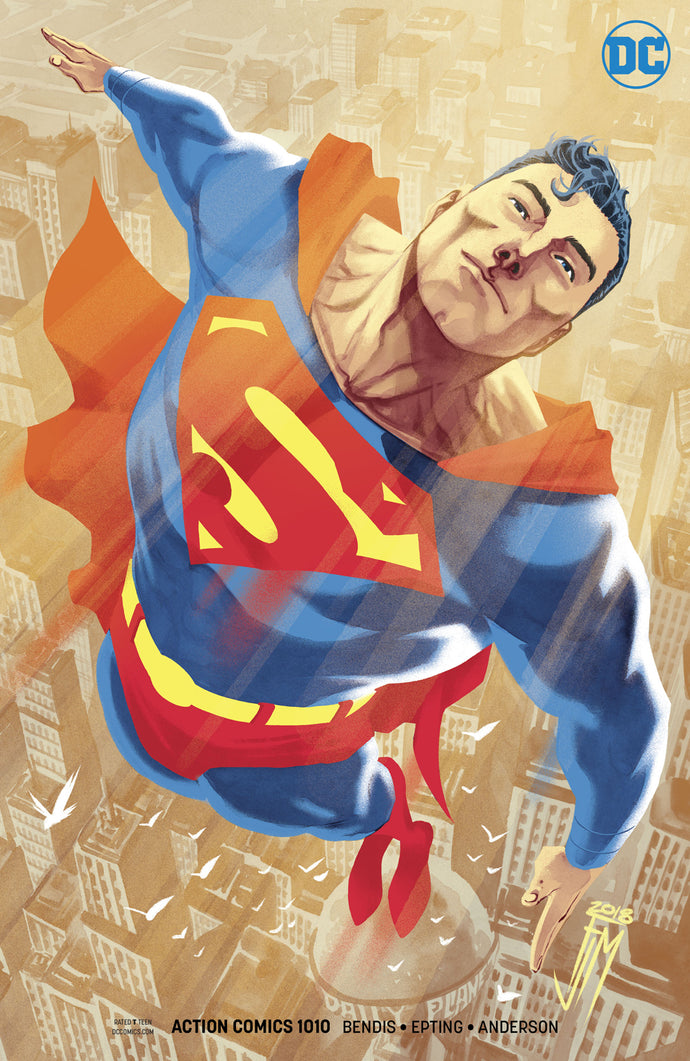 ACTION COMICS #1010 VAR ED