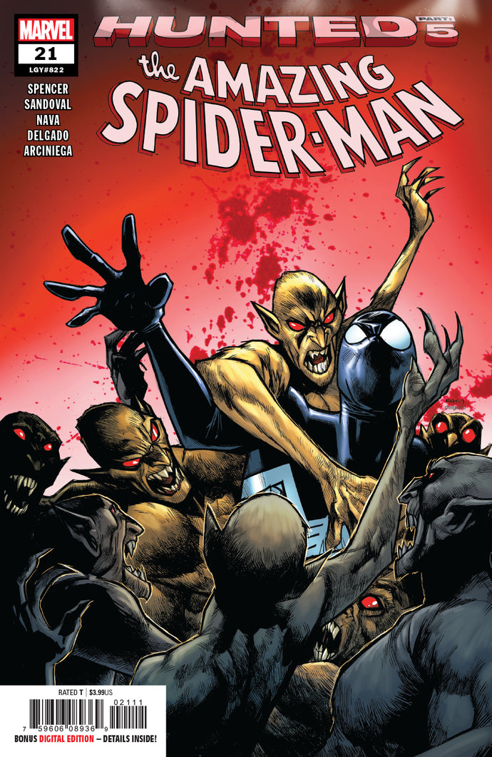 AMAZING SPIDER-MAN #21