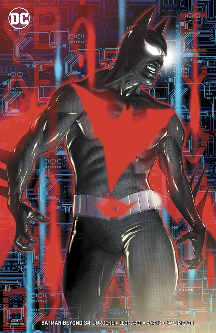 BATMAN BEYOND #34 VAR ED