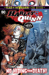 HARLEY QUINN #63 YOTV THE OFFER