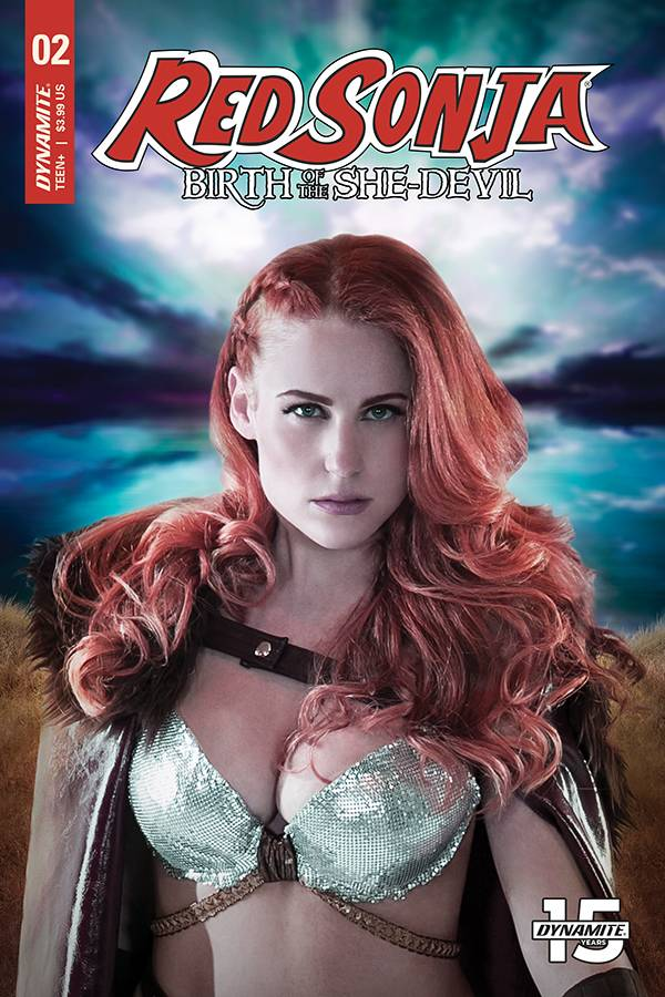 RED SONJA BIRTH OF SHE DEVIL #2 CVR C COSPLAY