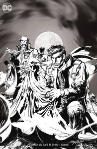 BATMAN VS RAS AL GHUL #1 (OF 6) B&W VAR ED