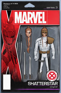 POWERS OF X #3 (OF 6) CHRISTOPHER ACTION FIGURE VAR