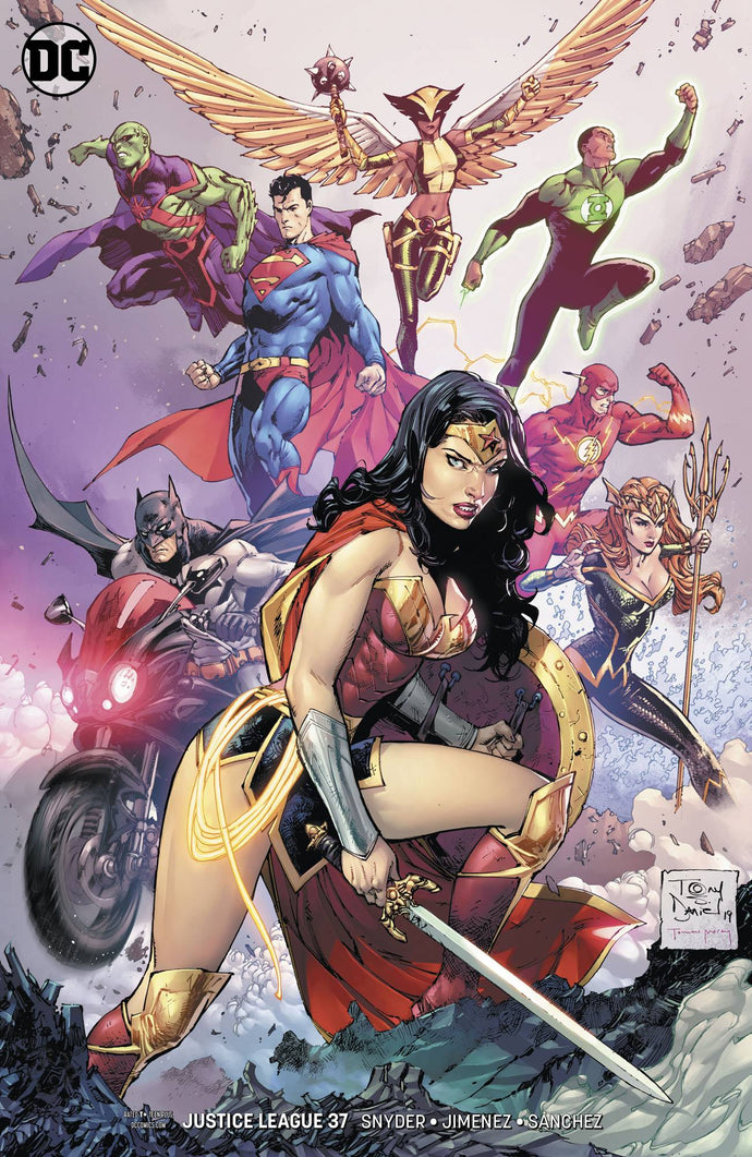 JUSTICE LEAGUE #37 VAR ED