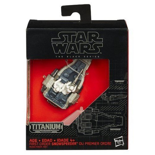 Star Wars: The Force Awakens Black Series Titanium First Order Snowspeeder