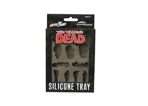 Walking Dead Zombies Silicone Ice Cube Tray Walker Body Parts Molded