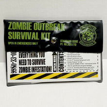 Load image into Gallery viewer, ZOMBIE EMERGENCY RESPONSE OPERATIONS (ZERO) ZOMBIE OUTBREAK SURVIVAL KIT