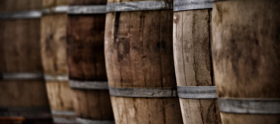 Casks of whisky for investment
