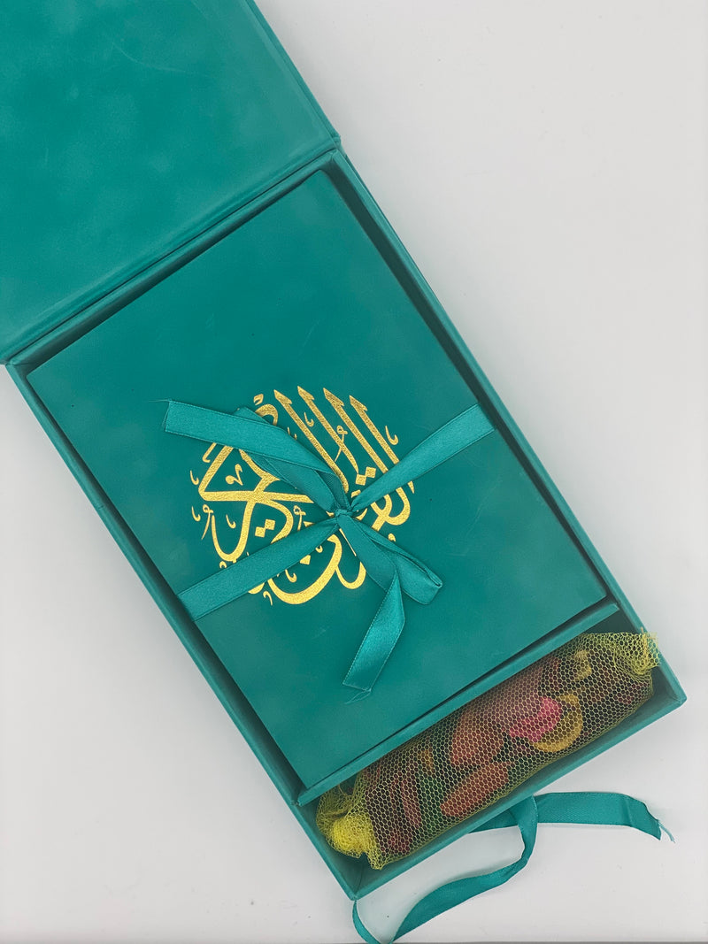 Medium Velvet Quran with matching Velvet gift box