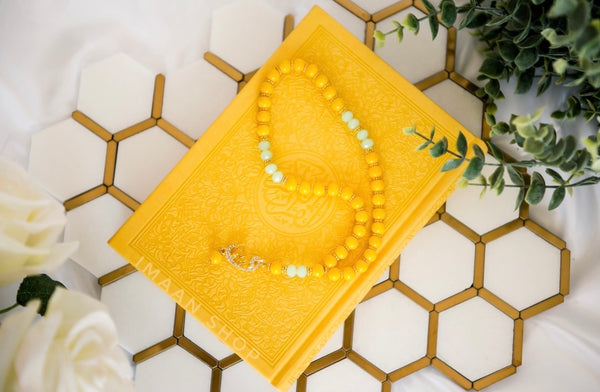 Ramadan Sale 2021 | Bundle # 1 | Medium Arabic Quran + Matching Tasbih | 33 Beads