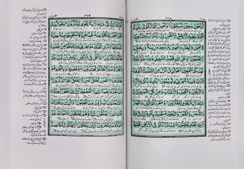 Urdu Quran with Translation and Urdu Tafseer | Large Size
