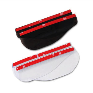 Sideview Mirror Eyebrow Rain & Storm Aprons - 2 pieces
