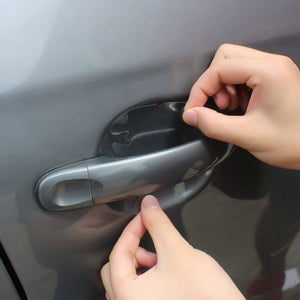 Clear Car Door Handle Protectors - 8 Pieces