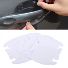 Load image into Gallery viewer, Clear Car Door Handle Protectors - 8 Pieces