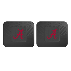 NCAA 2-Piece Vinyl Utility Floor Mat Set