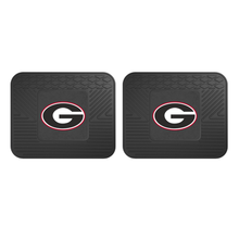 Load image into Gallery viewer, NCAA 2-Piece Vinyl Utility Floor Mat Set