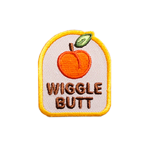 Wiggle Butt Badge by Scout's Honour