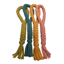 Load image into Gallery viewer, Recycled Cotton Eco Dog Loop Toy