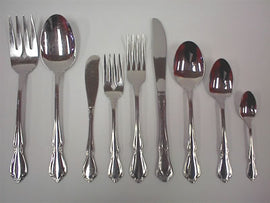 Rental - Chateau Flatware Coffee Spoon, dozen