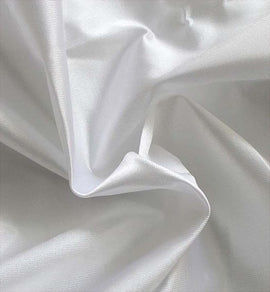 "Rental - 60""W x 12'H Silver Poly Knit Drape, each"