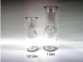 Rental - 1/2 litre Glass Wine Decanter, each