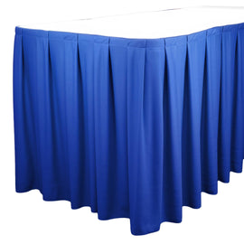 Rental - Royal Blue 16' Tableskirt, each