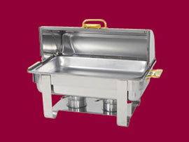 Rental - 12 litre Roll Top Chafing Dish, each