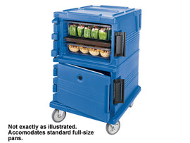 Rental - Blue Insulated Food Caddy, each