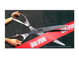 "Rental - 25"" Silver Ceremony Scissors, each"