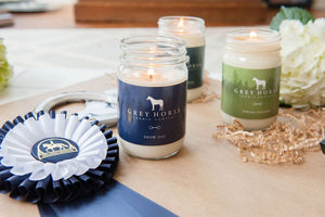 Pick 3 Grey Horse Candle Company Candles || 12oz.