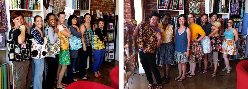 Shaerie Mead Sew L.A. Workshops and Classes