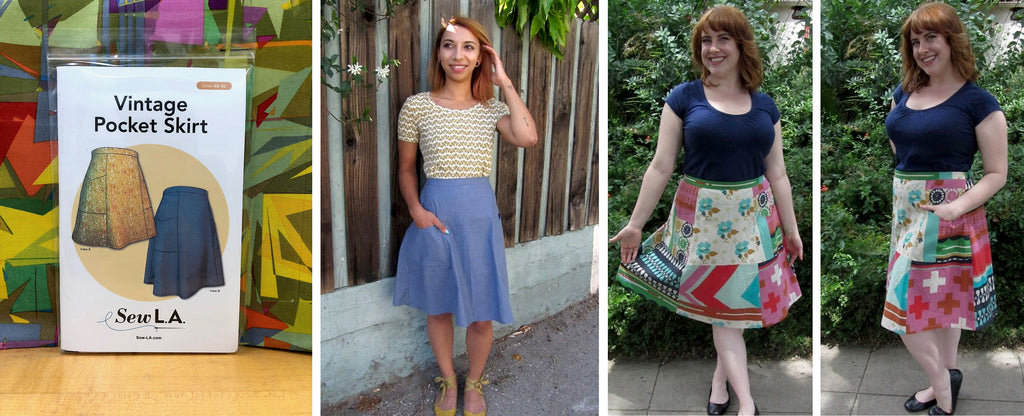 The Vintage Pocket Skirt With Shaerie Mead