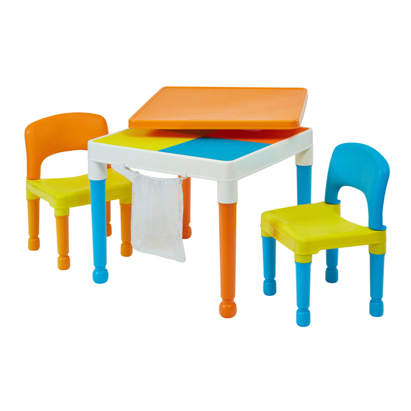 Multipurpose Activity Table & 2 Chairs with storage Bag at Child Land