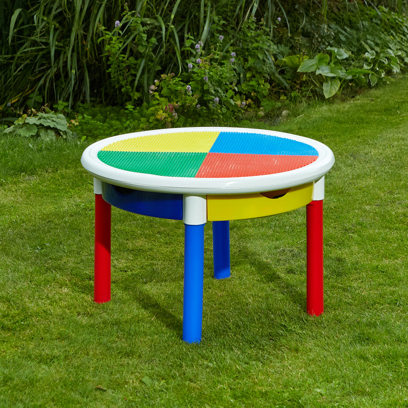 691-3-in-1-round-activity-table-outdoor-lego-top at Child Land