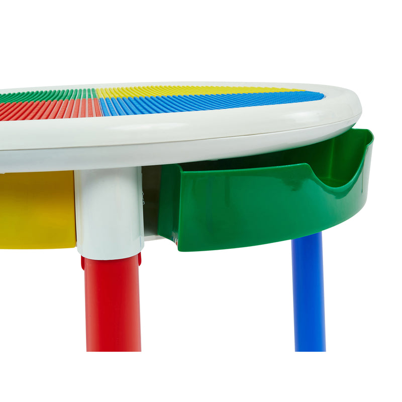 3-in-1-round-activity-table-product-close-up-green-draw at Child Land