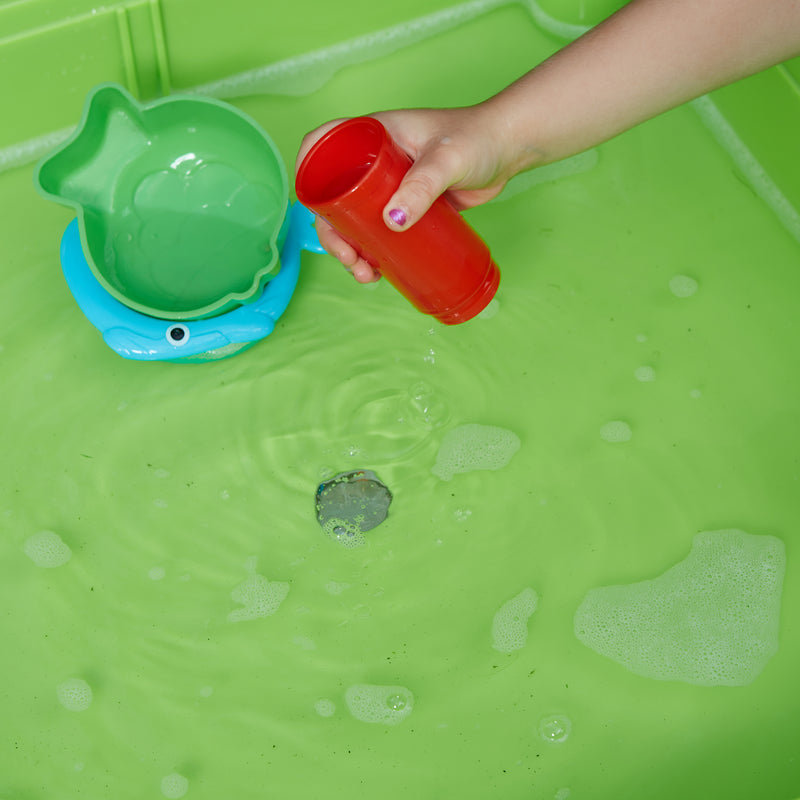 multi-coloured-table-and-2-chairs-outdoor-close-up-water-play at Child Land