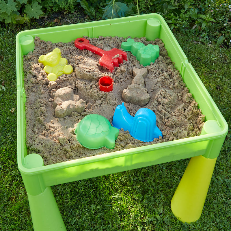 multi-coloured-table-and-2-chairs-outdoor-sand-play at Child Land