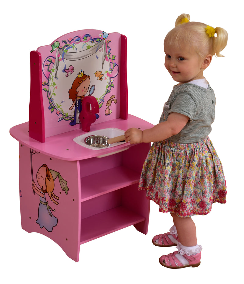 Princess Wooden Kitchen at Child Land
