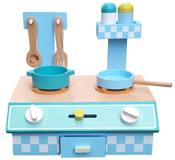 Kids Wooden Play Kitchen at Child Land